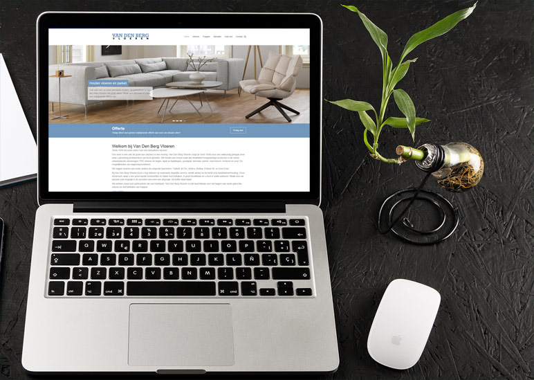 Website laten maken: Van den Berg Vloeren